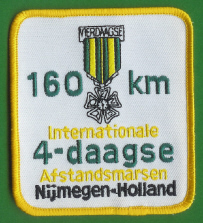 160 KM Nijmegen march